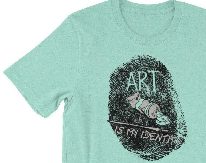 Art Is My Identity Short-Sleeve Unisex T-Shirt Design By Rafi Perez