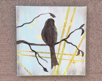 Birds Of The Season Wall Art Series By Artist Rafi Perez Original Art On Gallery Wrapped Canvas