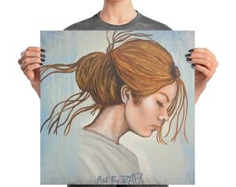 The Origin Of Passion Photo Paper Poster Designed By Rafi Perez