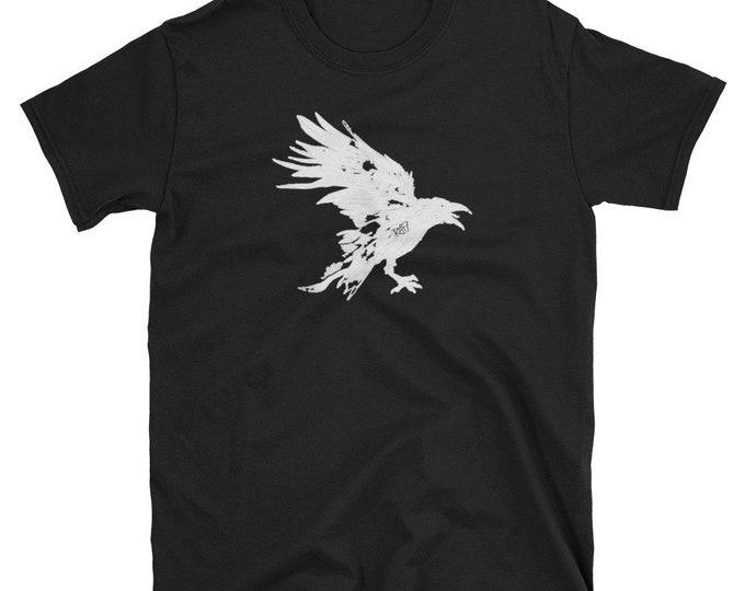 Nevermore Raven Short-Sleeve Unisex T-Shirt Design By Rafi Perez