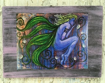 Dream Art Real Wall Art by artist Rafi Perez Original Artist Enhanced Print On Wood