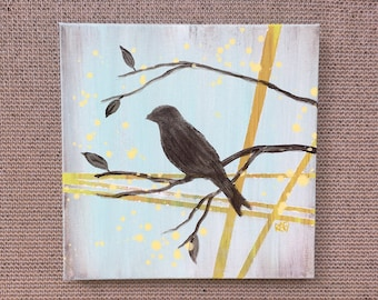 Birds Of The Season Wall Art Series By Artist Rafi Perez Original Art On Gallery Wrapped Canvas
