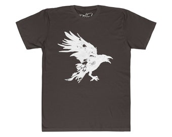The Raven Unisex Fitted Tee  Designed By Rafi Perez