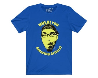 Hola You Amazing Artists Rafi Was Here Youtube Unisex Jersey Short Sleeve Tee Design By Rafi