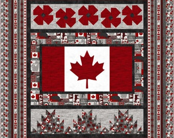 True Patriot Love quilt kit, Northcott, Quilts of Valour, The Fabric Addict