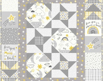 Happy Days baby quilt pattern. Download copy.