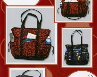The Professional Tote pattern by The Creative Thimble