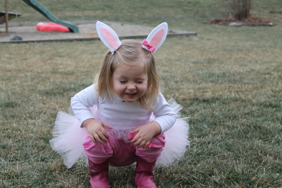 Bunny Costume Bunnytutu Toddler Costumes Bunny Ears Infant Etsy