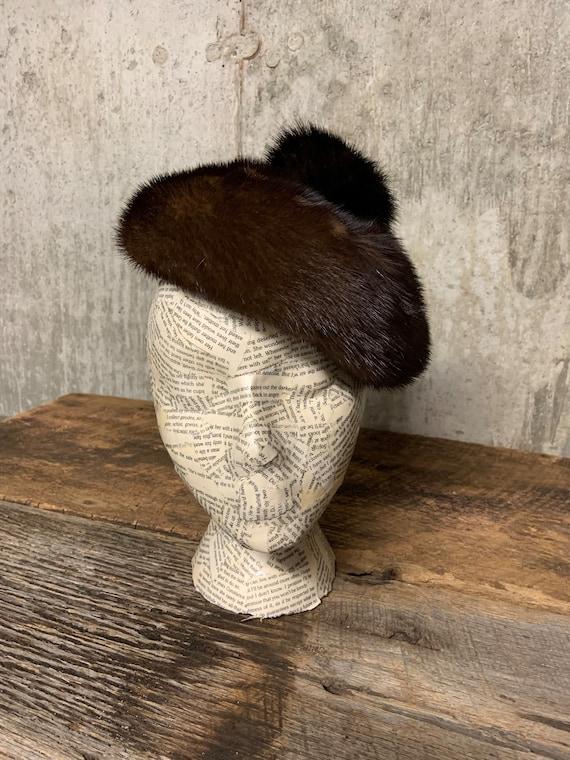 1960s Ladies Fur Hat, Fur hat, vintage Fur Hat, Mi