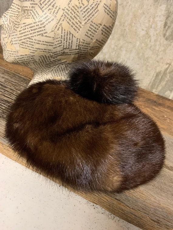 1960s Ladies Fur Hat, Fur hat, vintage Fur Hat, M… - image 7