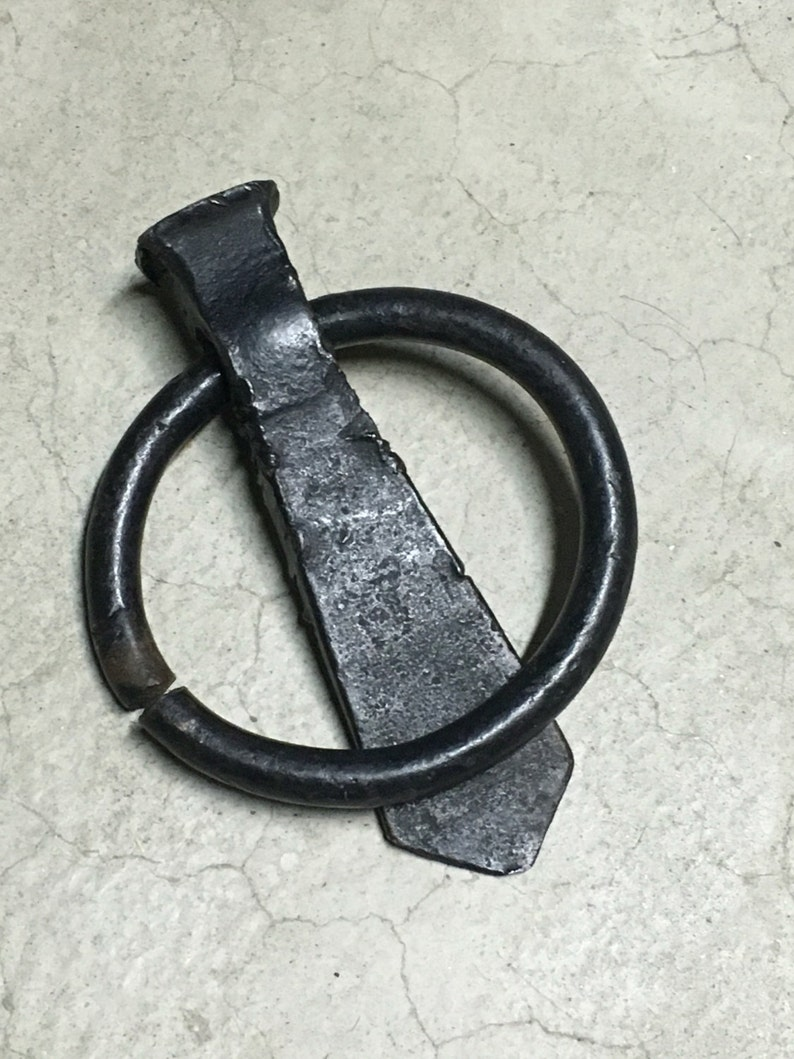 "Stanley National Hardware 2061BC 3//8/"" x 5-1//8/"" Zinc Plated Hitch Ring w//Bolt"