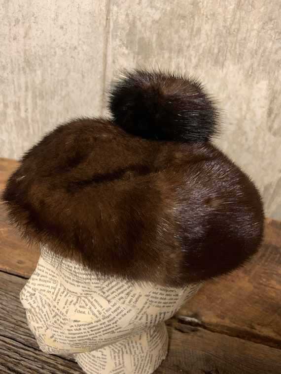 1960s Ladies Fur Hat, Fur hat, vintage Fur Hat, M… - image 4
