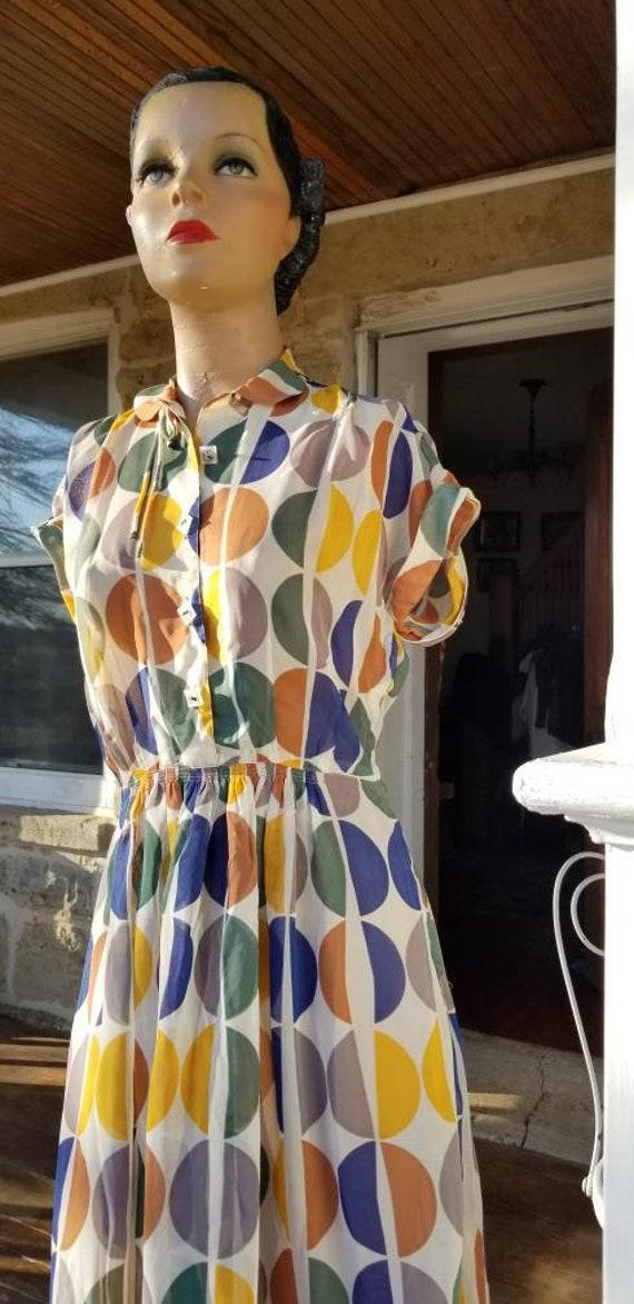 Iconic 1950s L'Aiglon Midcentury Sheer Novelty Pri
