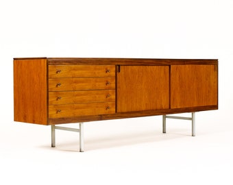 1960s Danish Credenza : Er sideboard kommode s teak credenza danish modern on