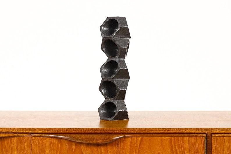Stoneware Ceramic Modernist Sculptural Design Object #18