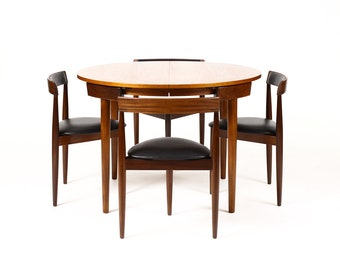 Danish Modern / Mid Century Teak Dining Table Set U2014 Hans Olsen ...
