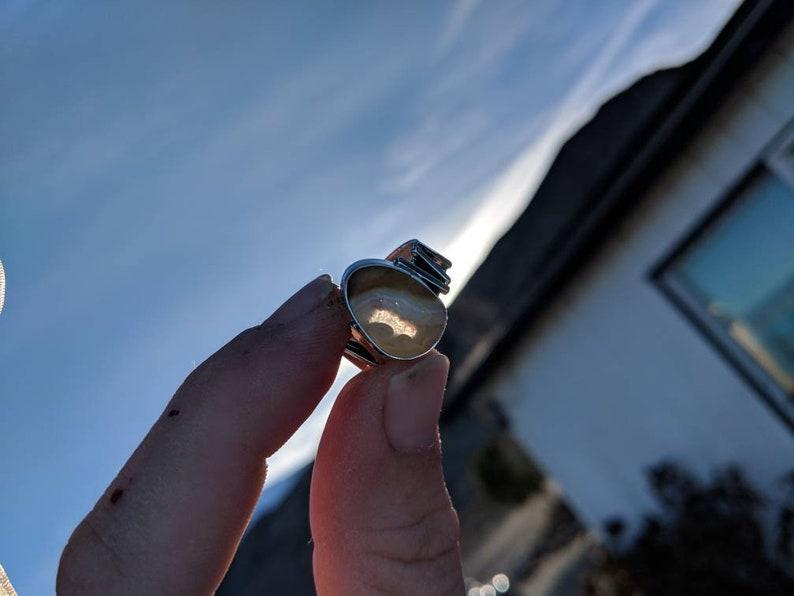 Carnelian ring size 9.5 Sterling silver