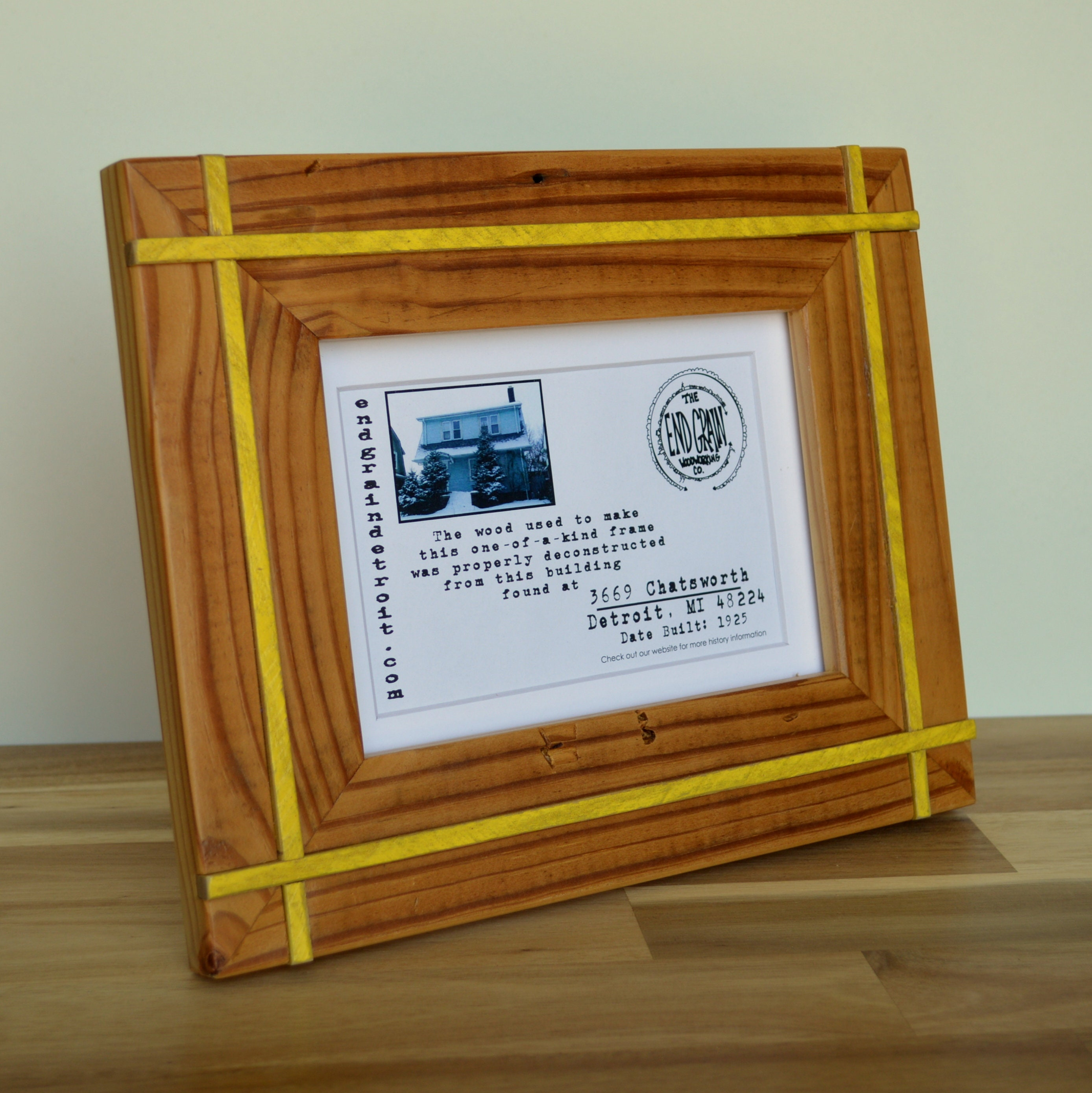 5 x 7 Reclaimed Wooden Picture Frame 3669 Chatsworth | Etsy