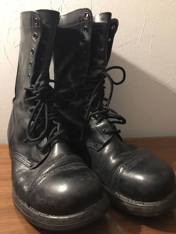 Vintage Corcoran Combat boots Goth Punk Combat Boo
