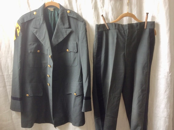 MILITARY INSPIRED JACKET and pants women or men ho