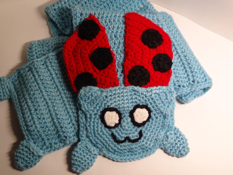 Crochet Bravest Warrior Inspired Catbug Scarf Etsy