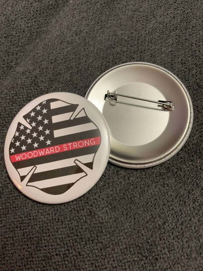 Woodward Strong Inc. Mirror Magnet or Pin image 0