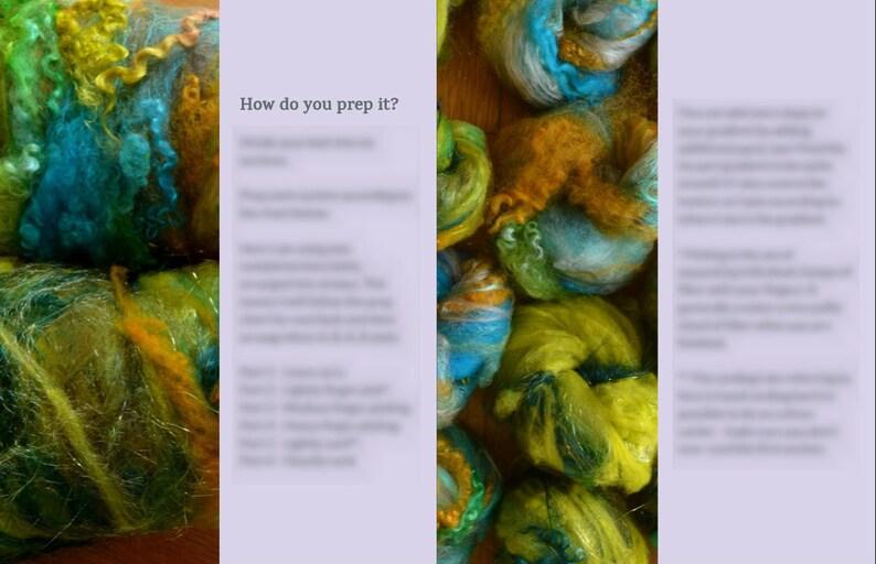 Spinning Batt Tutorial Texture Gradient Handspun Yarn Tutorial