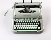 Hermes 3000 - Include New Ribbon BLack Red - Vintage Portable Typewriter