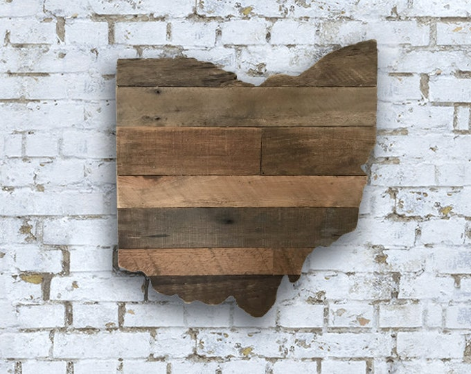 Rustic Ohio Wall Art