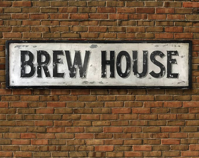 Brew House Sign, Hand Painted