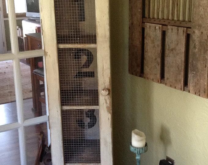 Rustic Storage Locker