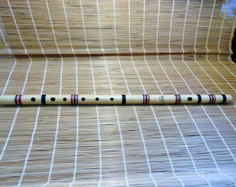 "Bansuri Flute. India Cane.Key-D. 26"" Long"
