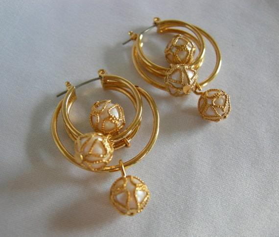 Cristal Checo Perlas Pequeñas Flores Oro markingsx 12 15