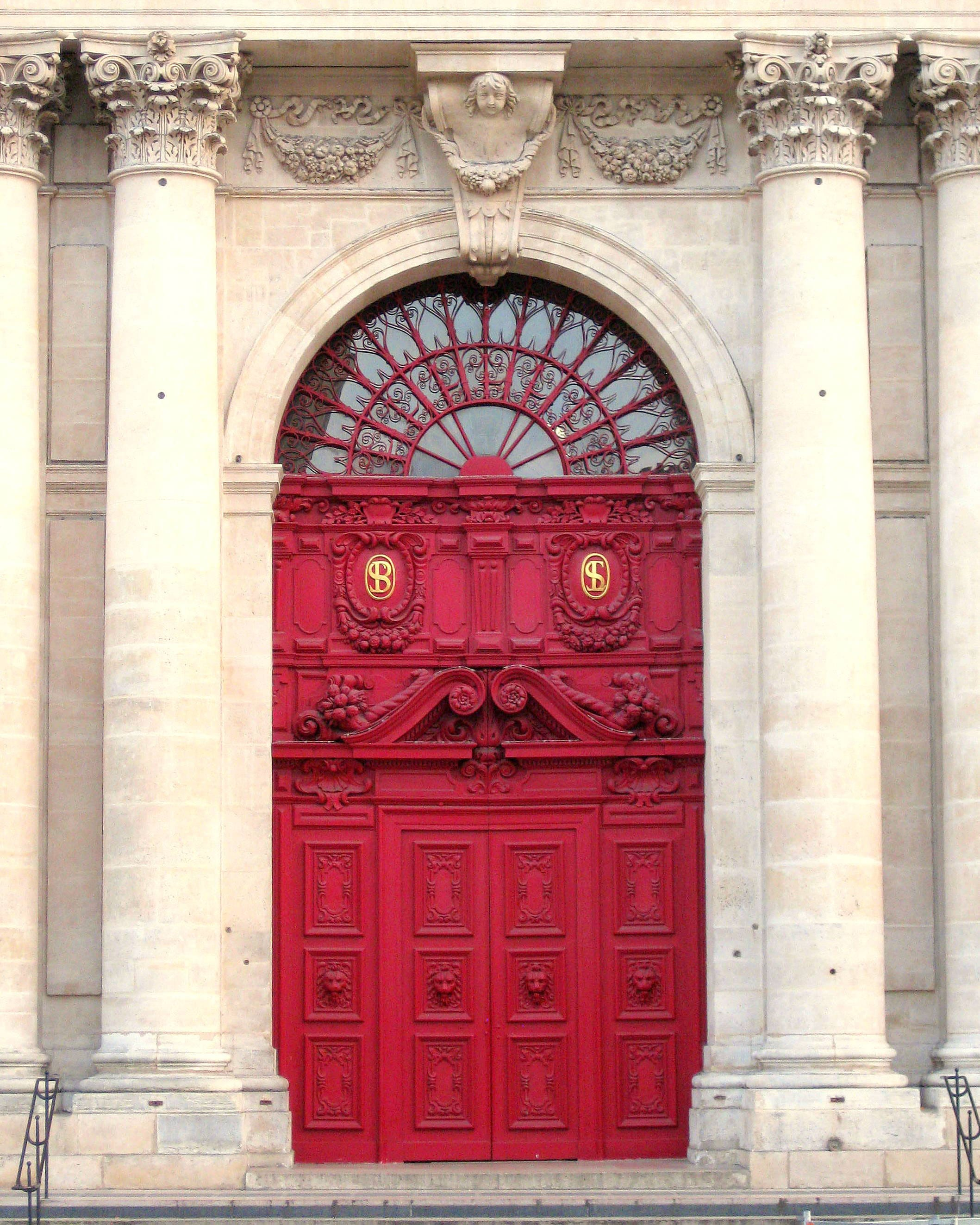 Paris Photography Door In Paris Red Door Paris Decor Paris Etsy