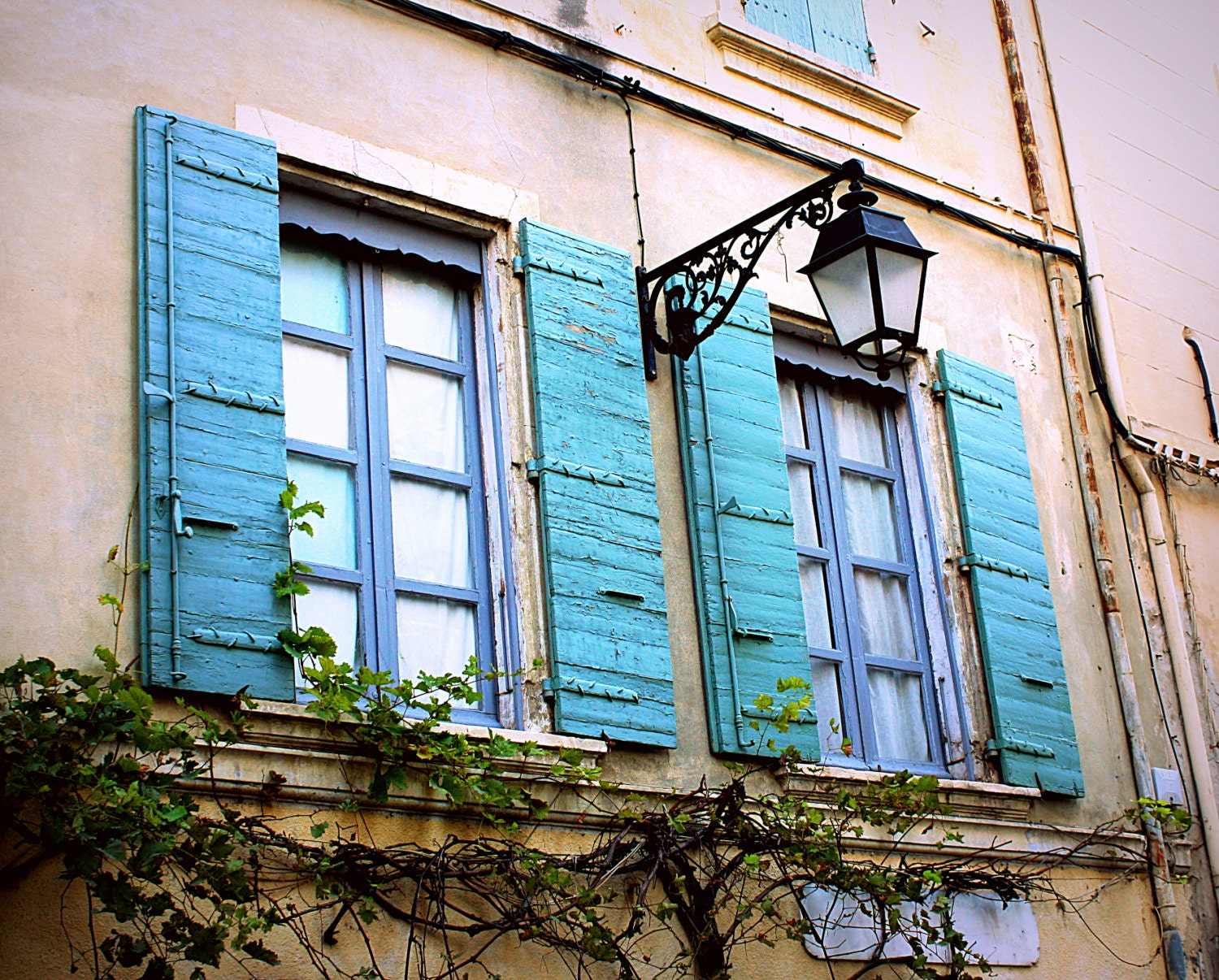 Country French Decor Rustic French Window Photo. Distressed | Etsy