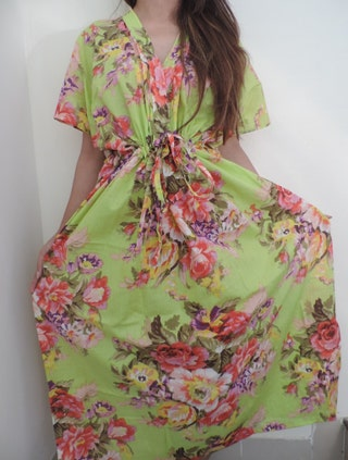 The Perfect Maternity Hospital Gown,Nursing kaftan, Nursing Gown, For Moms to be