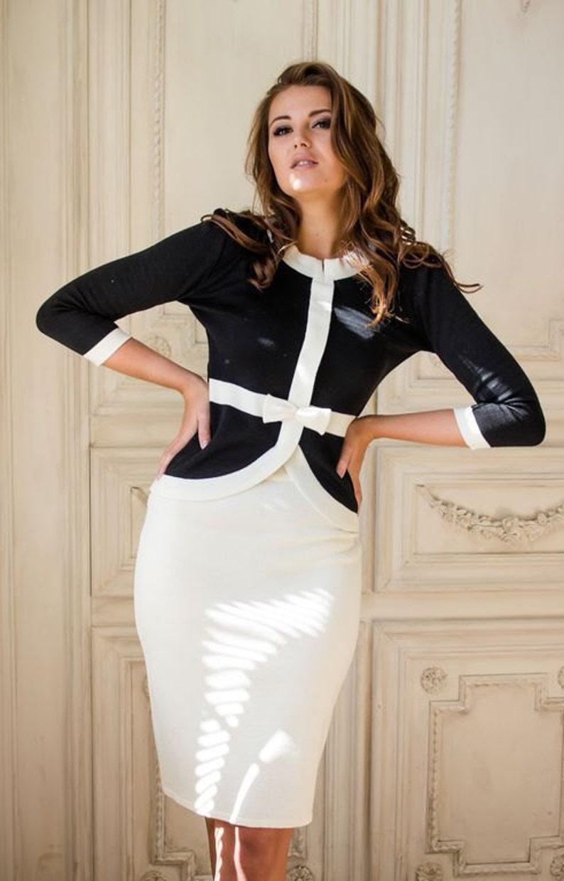 Elegant classic women suit Madam in the style of  bad13ec78d