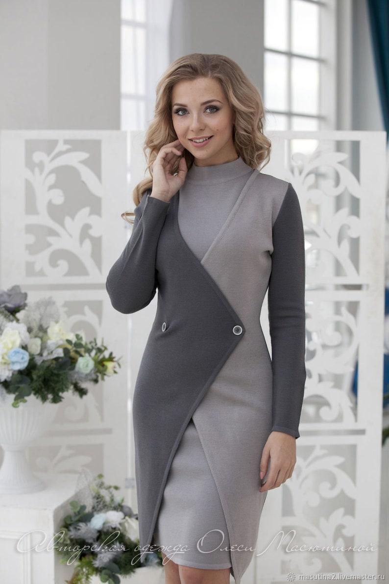 eeb9c6f6ee98 Donna di affari elegante vestito Londra è composto