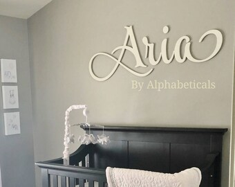 Baby Room Letters Baby Room Sign Baby Room Wall Décor Wooden Letters for Nursery Letters Nursery Wall Letters Name Letters Alphabeticals