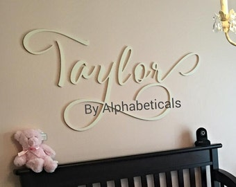 Nursery Name Letters for Nursery Wooden Letters Wall Decor Baby Name Sign Wall Hanging Wooden Signs Wall Letters Girl Boy Alphabeticals