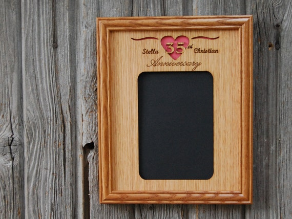 wedding gift wedding frame rustic wedding gift 5 x 7 frame 5th anniversary gift anniversary frame personalized picture frame weddings