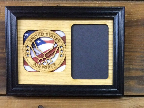 5x7 Us Air Force Picture Frame Air Force Memorbelia Us Air Etsy