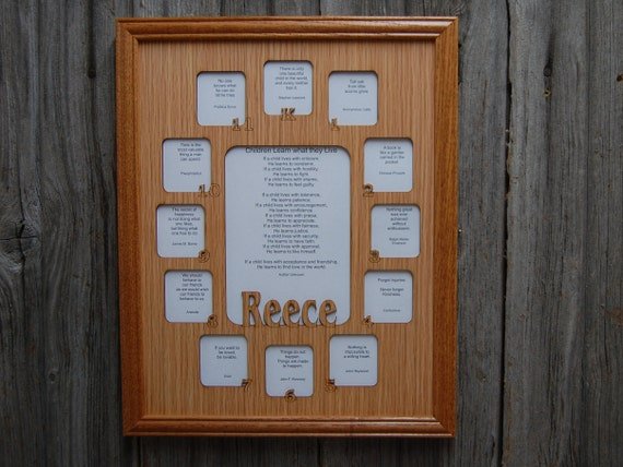 11x14 K 12 School Years Picture Frame K Thru 12th Grade Etsy