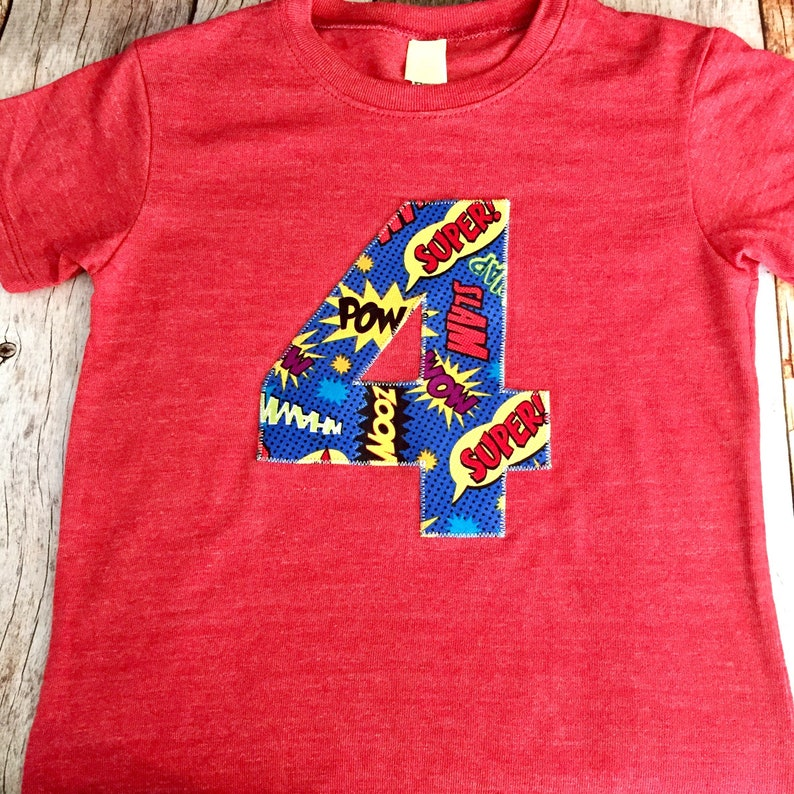 Super Hero Pow Bang On Royal Blue Red Yellow Primary Colors