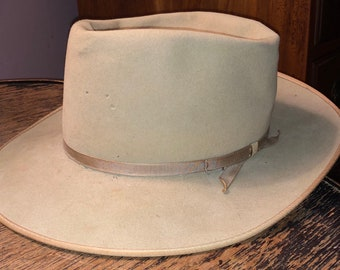c730f80c2c679 Small Vintage Fedora Collection Beige Robley Fedora Brown Adam Fedora  Indiana Jones Hat Both Small Size All Approx 6 3 4 SALE