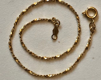Vintage Gold Filled Chain Bracelets Wholesale Chains for Restoration & Upcycling
