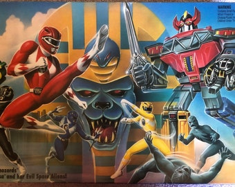 Mighty Morphin Power Rangers Game 1993 Milton Bradley