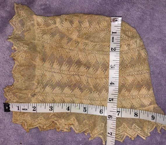 Victorian Lace Bonnet for Baby Delicate Antique L… - image 10