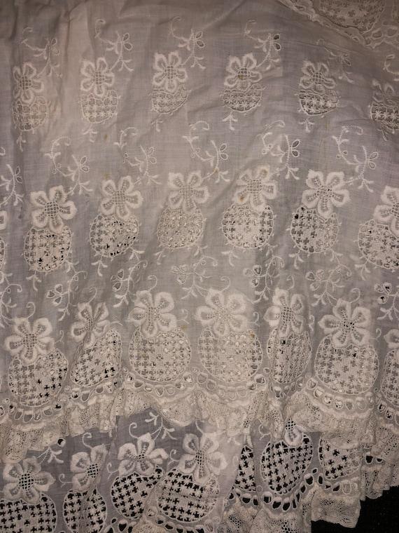 Authentic Antique Edwardian Lace Dress Victorian … - image 10