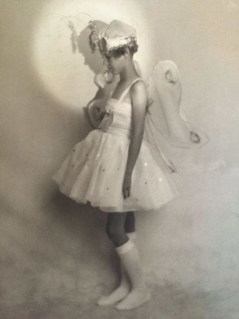 Most Adorable Photo Little Girl in Butterfly Dance Recital image 0